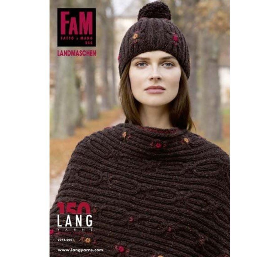 Lang Yarns FaM Fatto a Mano 244 Landmaschen
