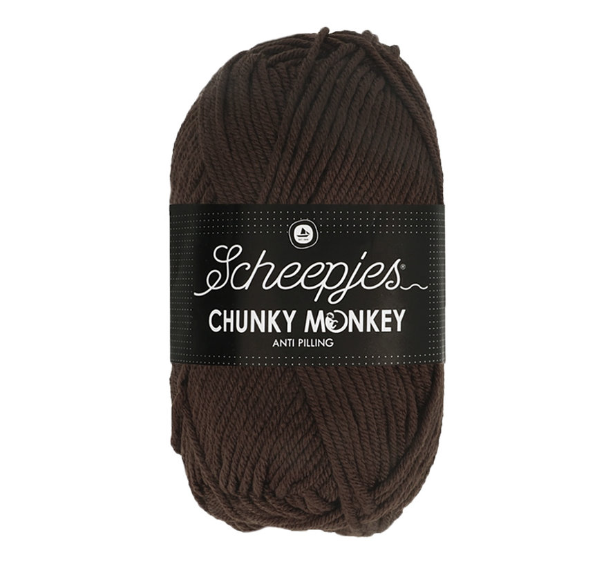 Scheepjes Chunky Monkey 1004 Chocolate