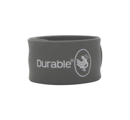 Durable Klaparmband 24cm Grijs 2 stuks