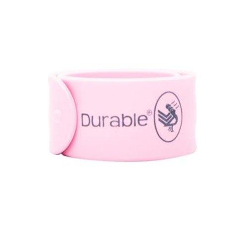 Durable Klaparmband 21cm Grijs 2 stuks