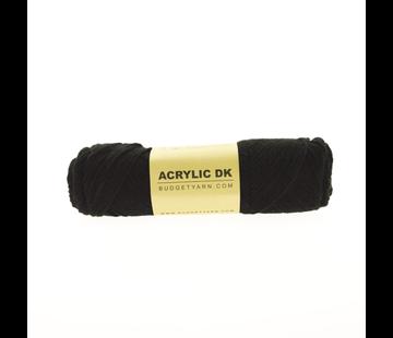 Budget Yarn Budget Yarn Acrylic DK 100 Black