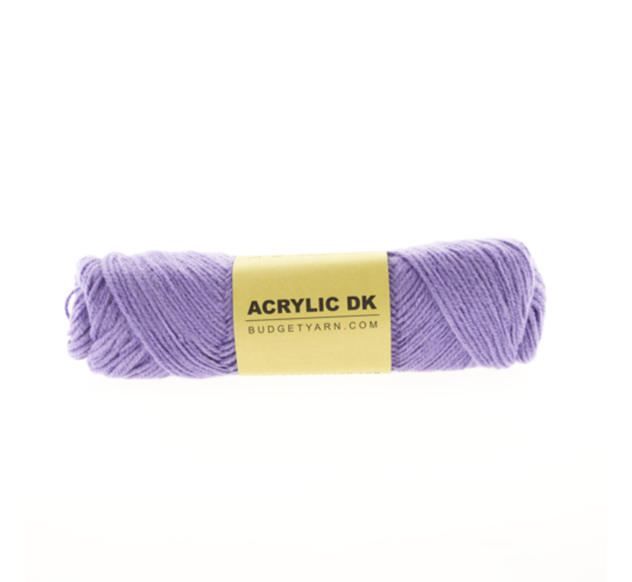Budget Yarn Acrylic DK 056 Lavender