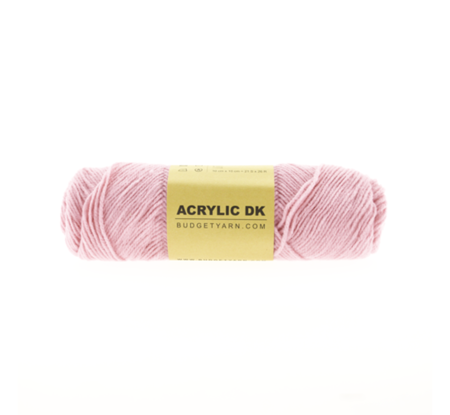 Budget Yarn Acrylic DK 037 Cotton Candy