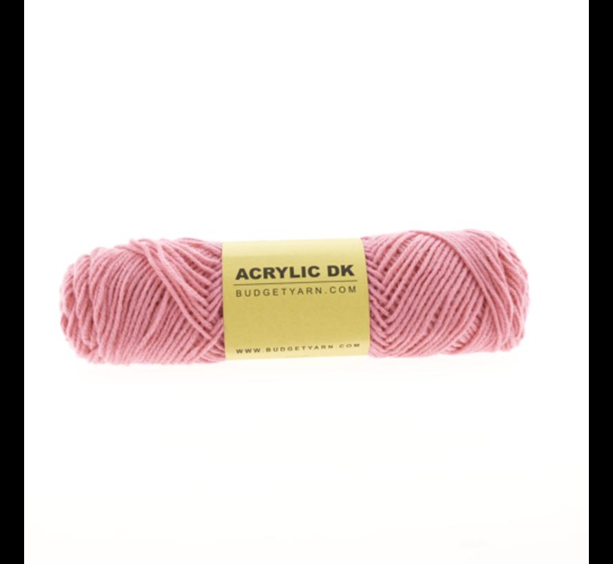 Budget Yarn Acrylic DK 035 Girly Pink