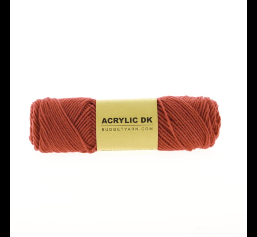 Budget Yarn Acrylic DK 033 Raspberry