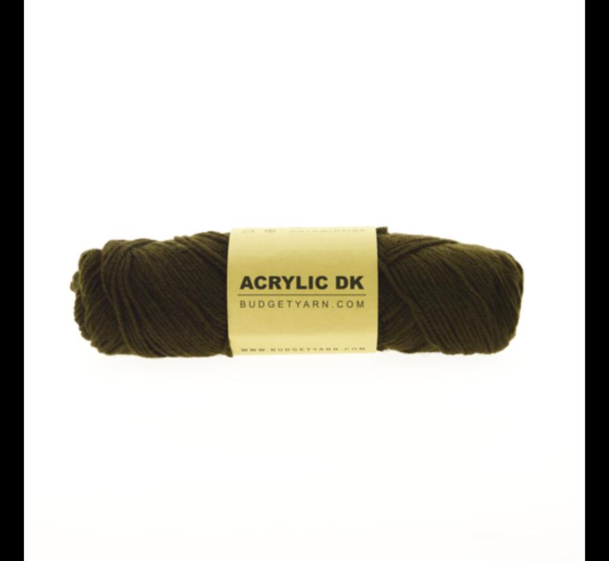 Budget Yarn Acrylic DK 028 Soil