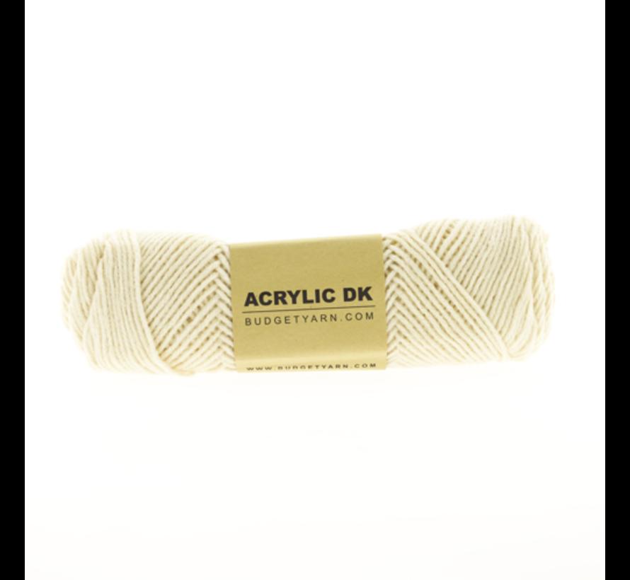 Budget Yarn Acrylic DK 003 Ecru