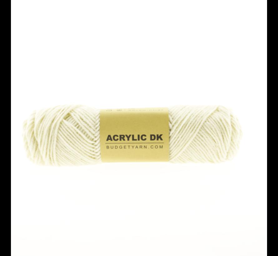 Budget Yarn Acrylic DK 002 Cream
