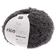 Rico Design Rico Design Baby Teddy Aran 024 Dark Grey