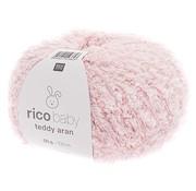 Rico Design Rico Design Baby Teddy Aran 022 Baby Pink