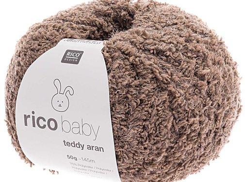 Rico Design Rico Design Baby Teddy Aran 017 Putty