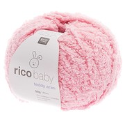 Rico Design Rico Design Baby Teddy Aran 003 Light Pink