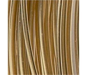 Huismerk Aluminium draad 2mm Goud - 3m