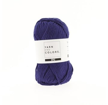 Yarn and Colors Yarn and Colors Epic 60 Navy Blue