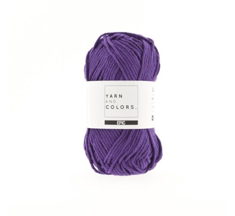 Yarn and Colors Epic 55 Lilac