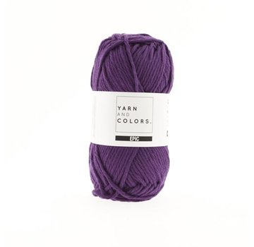 Yarn and Colors Yarn and Colors Epic 54 Grape