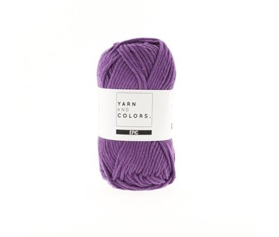 Yarn and Colors Yarn and Colors Epic 51 Plum