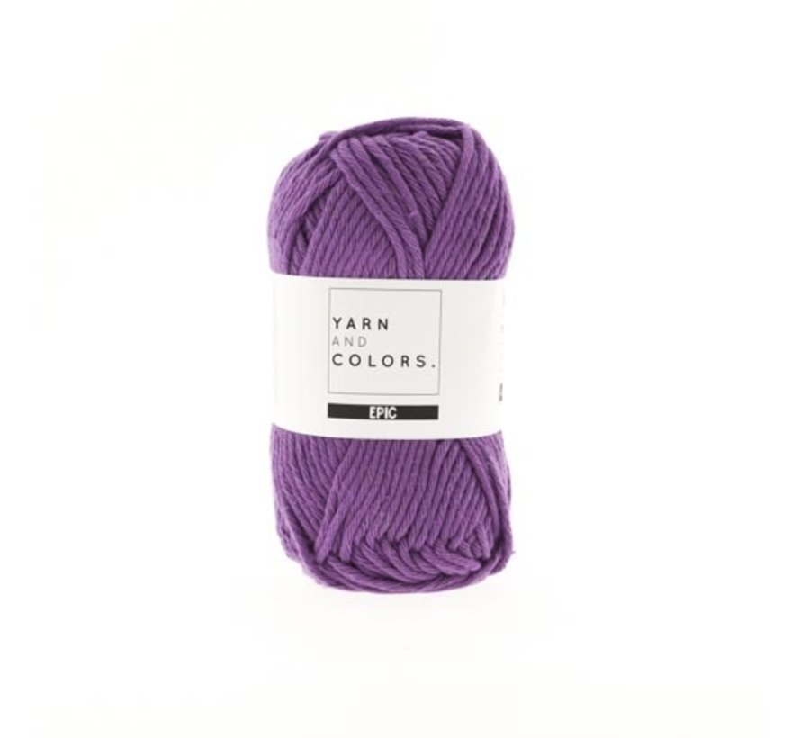 Yarn and Colors Epic 51 Plum