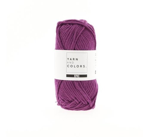 Yarn and Colors Yarn and Colors Epic 50 Purple Bordeaux
