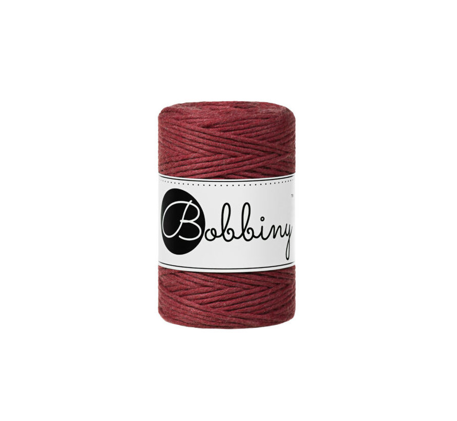 Bobbiny Macrame cord 1,5mm Wildrose