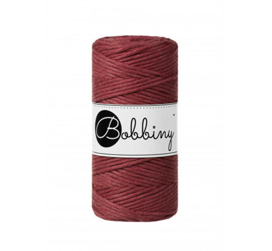 Bobbiny Macramé cord 3mm Wildrose