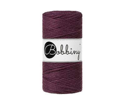Bobbiny Bobbiny Macramé cord 3mm Blackberry