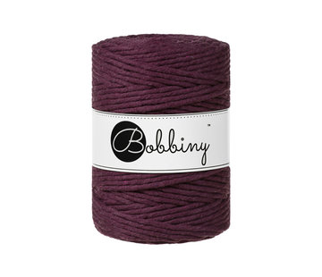 Bobbiny Bobbiny Macrame cord 5mm Blackberry