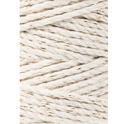 Bobbiny Bobbiny Macrame Triple Twist 3mm Natural golden