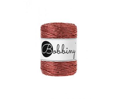 Bobbiny Bobbiny Macrame cord 3mm Metallic Copper Limited Edition
