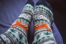 Basispatroon sokken – maat 41