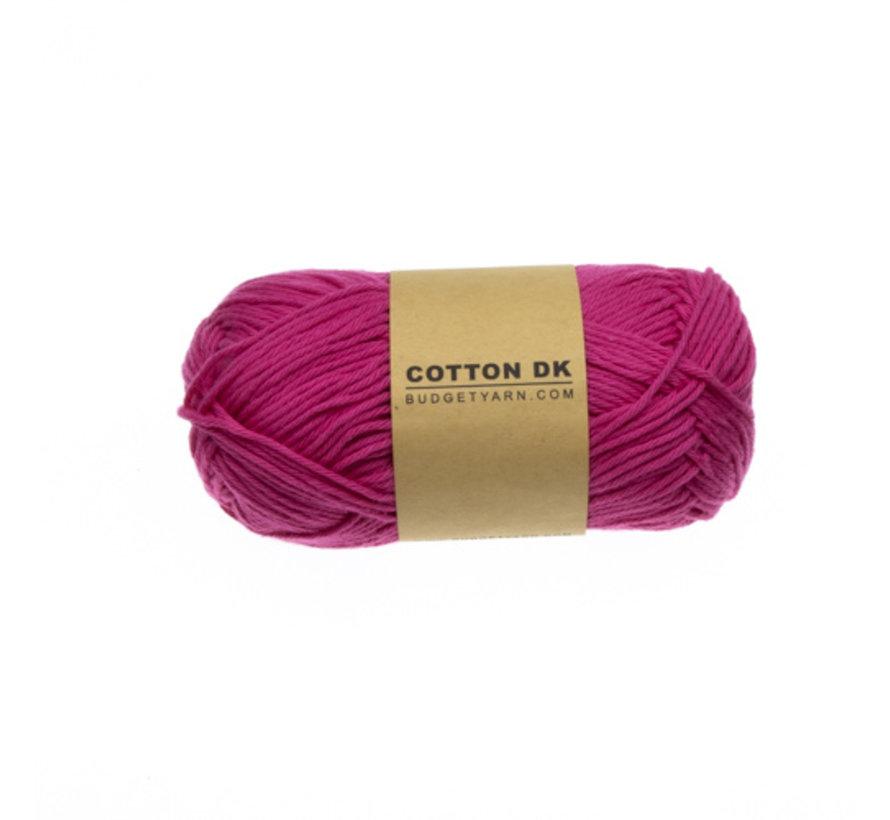 Budget Yarn Cotton DK 035 Girly Pink