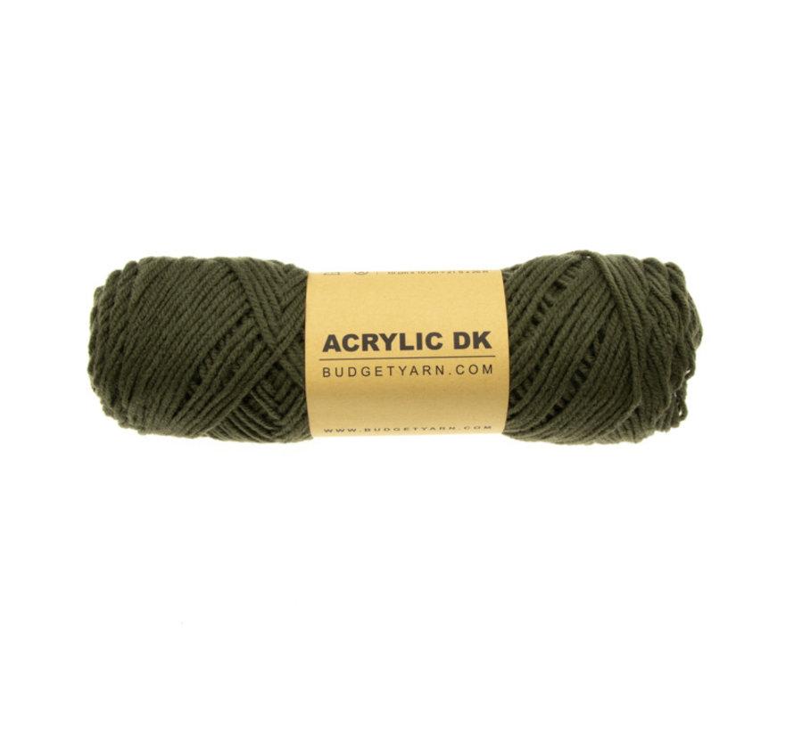 Budget Yarn Acrylic DK 091 Khaki