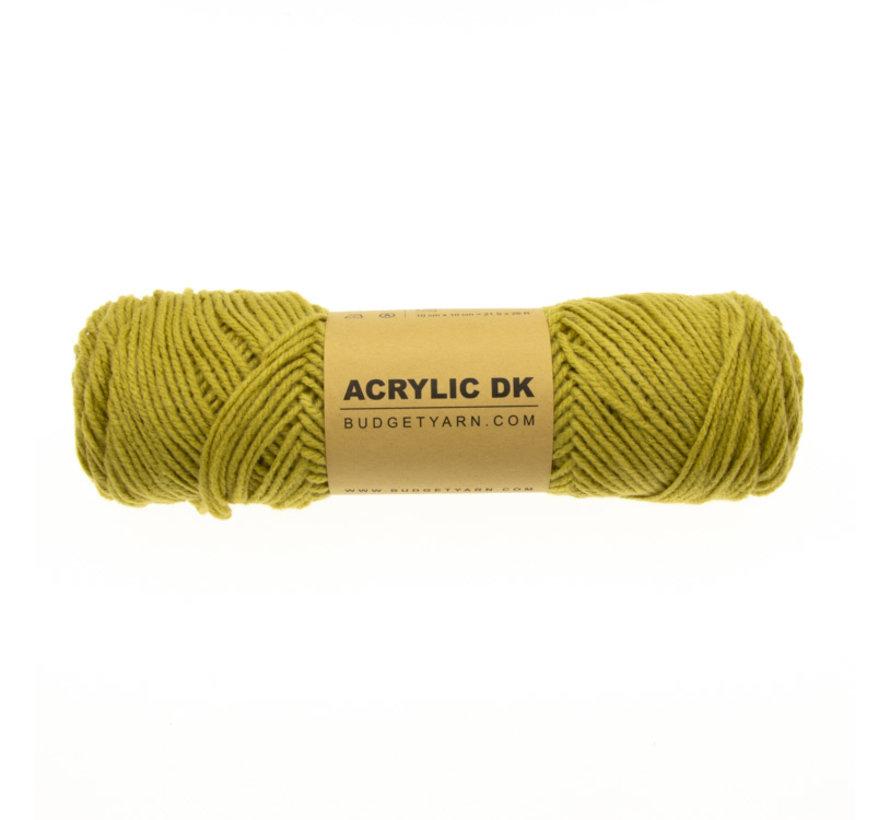 Budget Yarn Acrylic DK 089 Gold