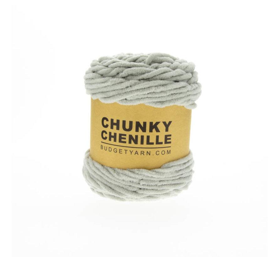 Budget Yarn Chunky Chenille 095 Kleur: Soft Grey