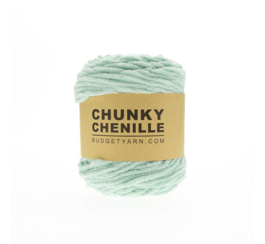 Budget Yarn Chunky Chenille 073 Kleur: Jade Gravel