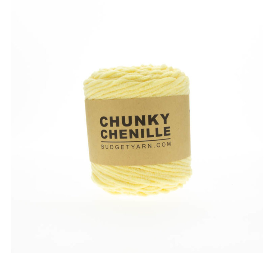 Budget Yarn Chunky Chenille 010 Kleur: Vanilla