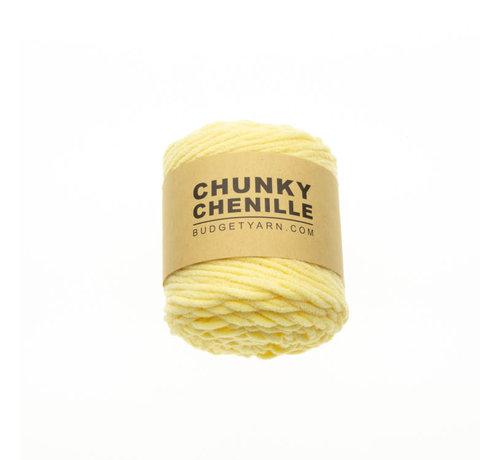 Budget Yarn Budget Yarn Chunky Chenille 010 Kleur: Vanilla