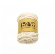 Budget Yarn Budget Yarn Chunky Chenille 002 Kleur: Cream