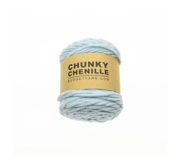 Budget Yarn Budget Yarn Chunky Chenille 063 Kleur: Ice Blue