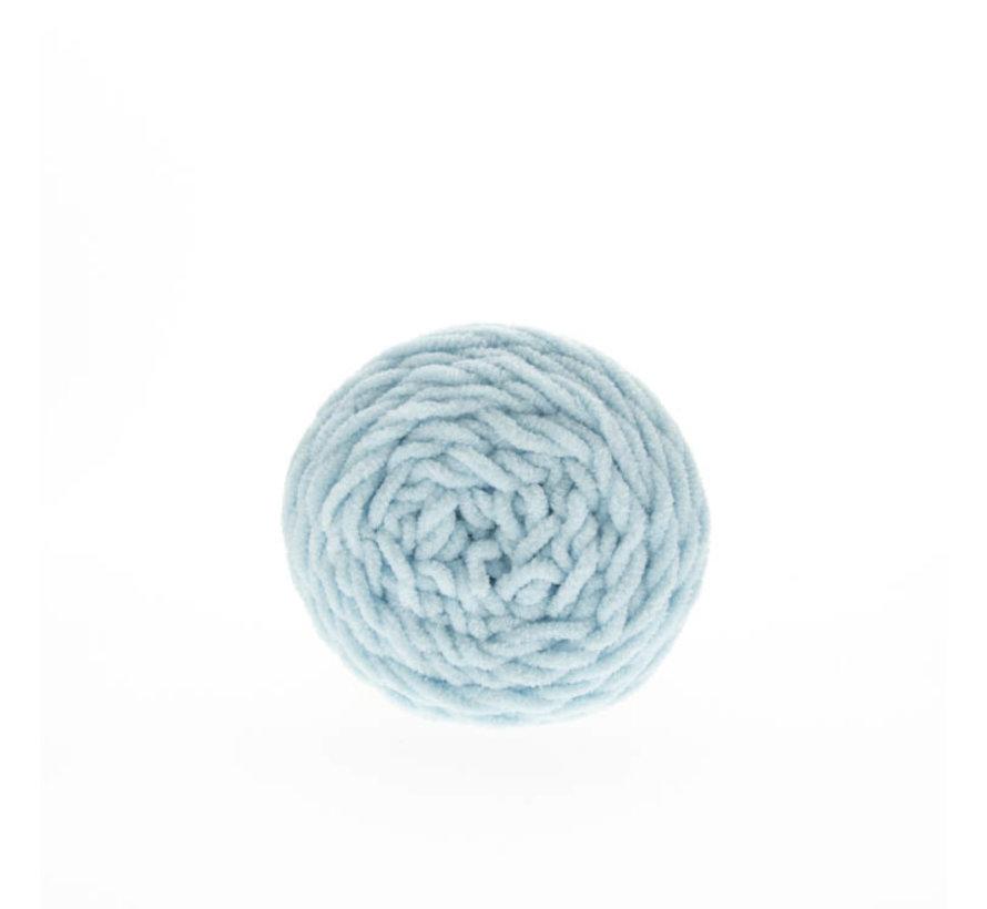 Budget Yarn Chunky Chenille 063 Kleur: Ice Blue