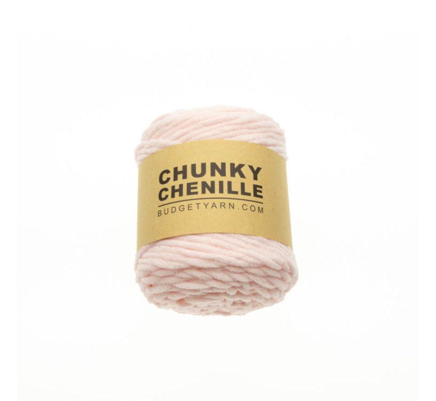 Budget Yarn Chunky Chenille 044 Kleur: Light Pink