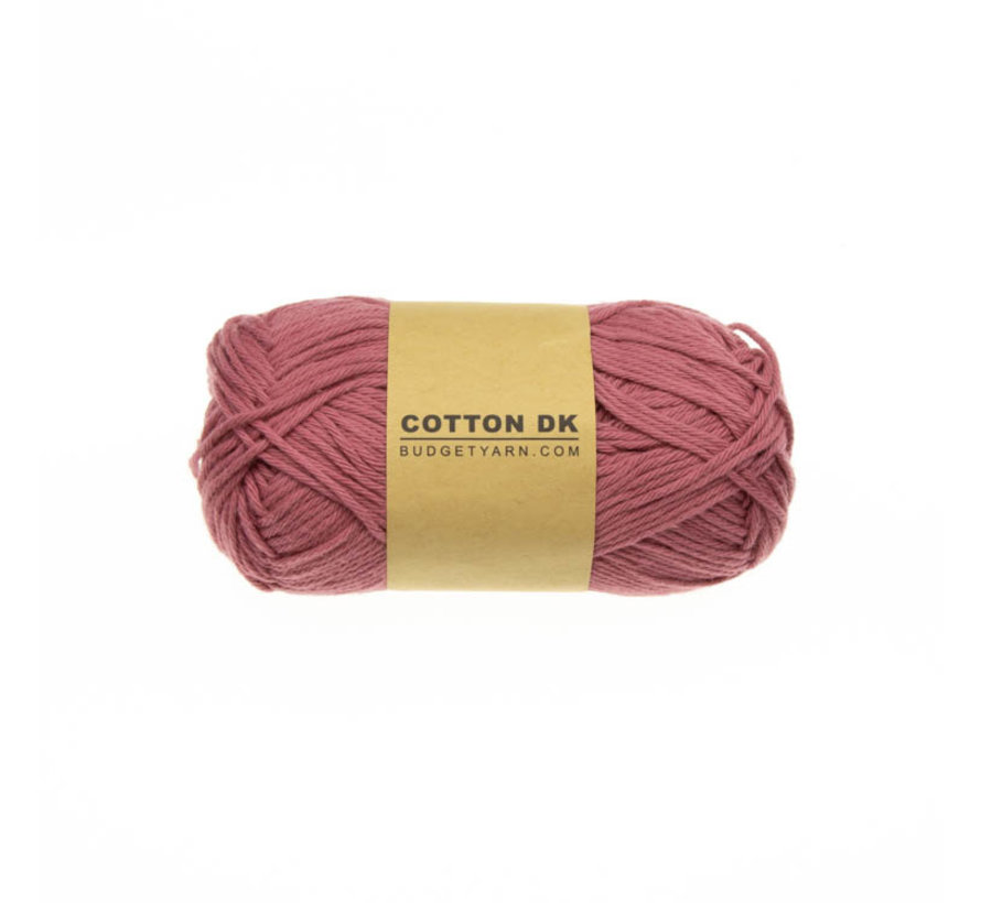 Budget Yarn Cotton DK 048 Antique Pink