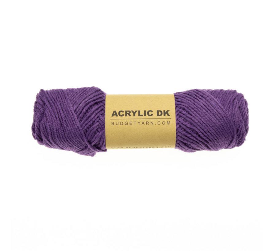 Budget Yarn Acrylic DK 055 Lilac