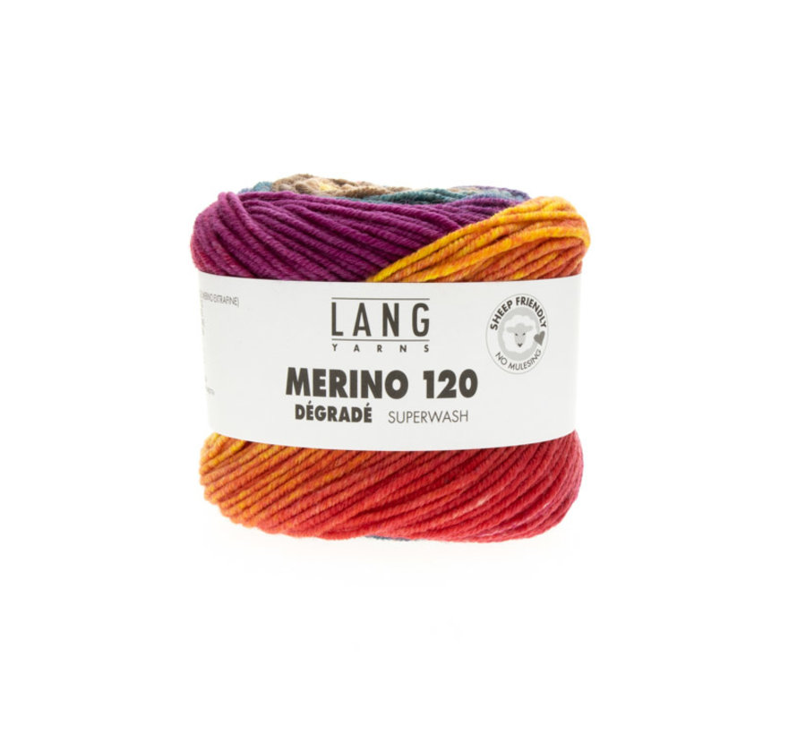 Lang Yarns Merino 120 Degrade 007