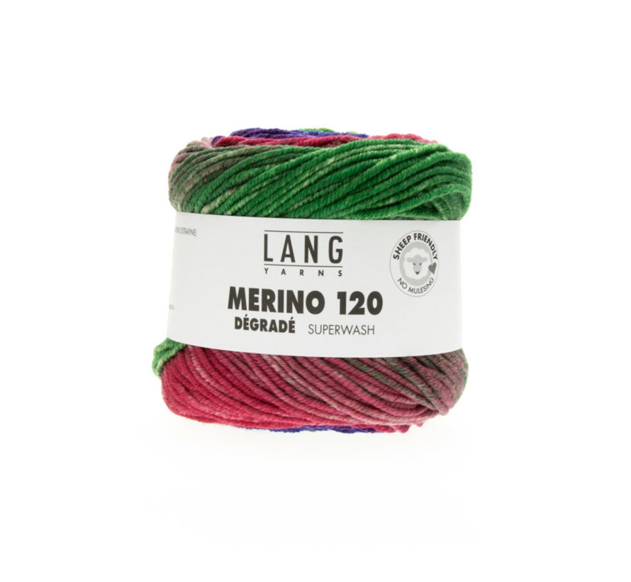 Lang Yarns Merino 120 Degrade 008