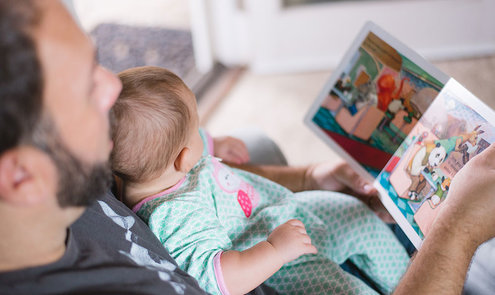 Haak of brei een kinderboekenfiguur