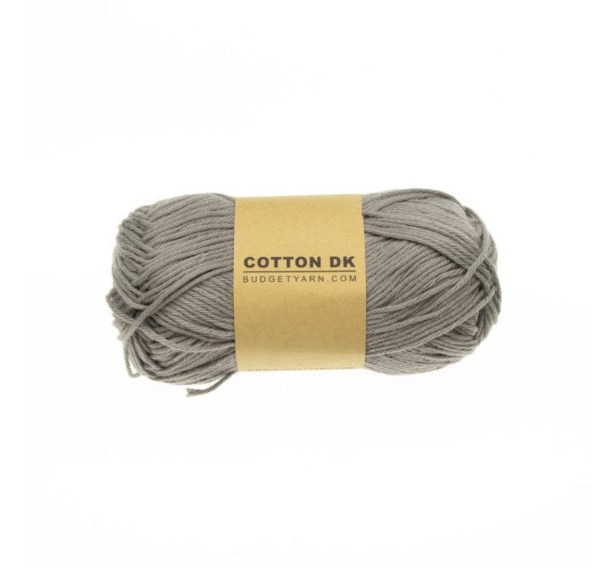 Budget Yarn Cotton DK 096 Shark Grey