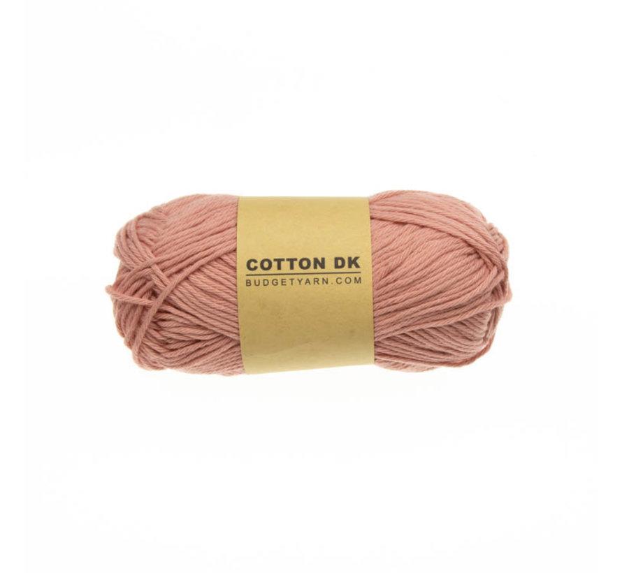 Budget Yarn Cotton DK 047 Old Pink
