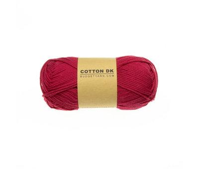 Budget Yarn Budget Yarn Cotton DK 033 Raspberry