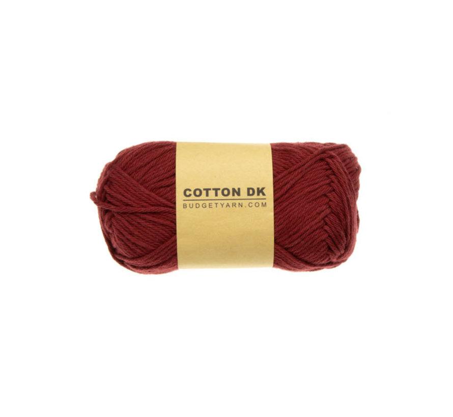 Budget Yarn Cotton DK 029 Burgundy
